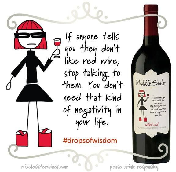 Middle Sister Rebel Red Drops of Wisdom