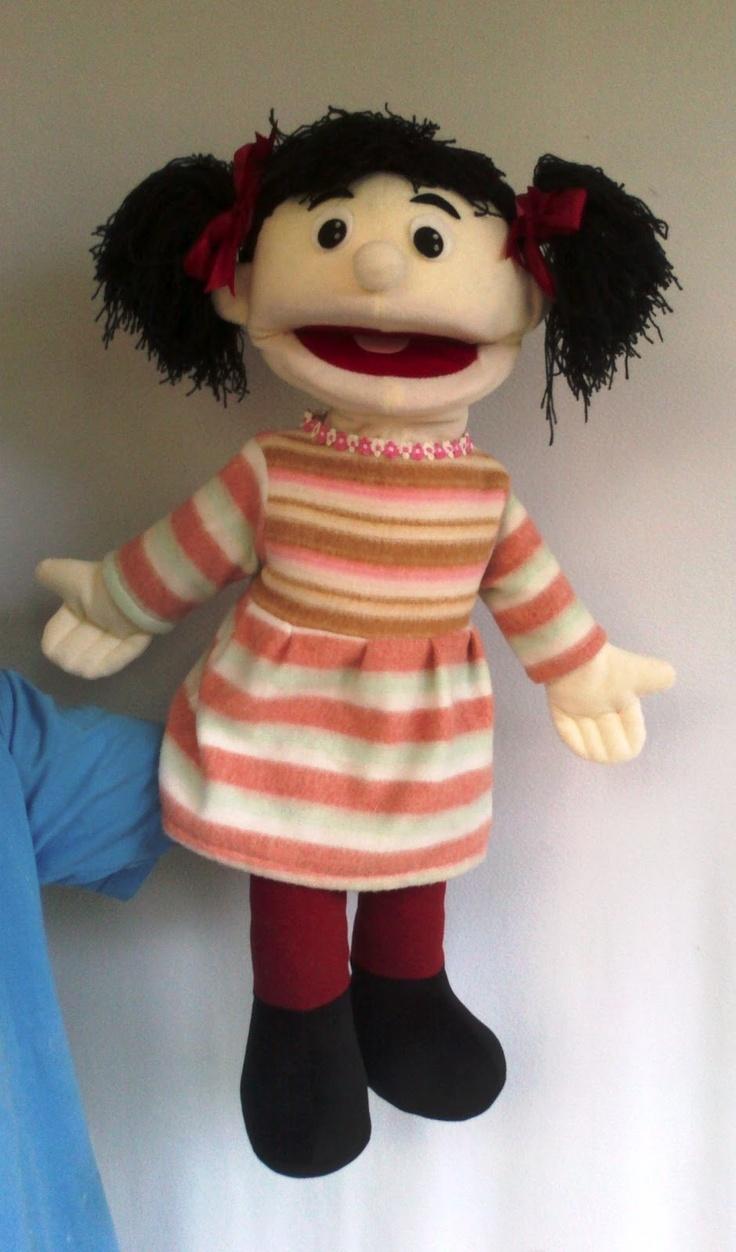 (good site; overseas) Girl puppet