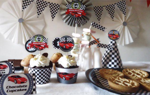 Супер гонка. День рождения в стиле Тачки | http://www.babyroomblog.ru/