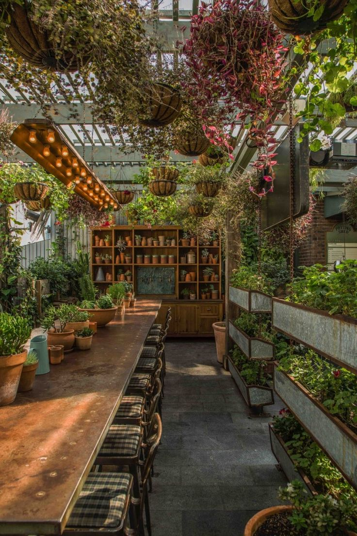 Kaper Design; Restaurant & Hospitality Design Inspiration: The Potting Shed