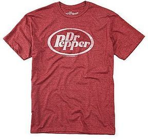 heh-- Dr. Pepper Oval Logo Graphic Tee