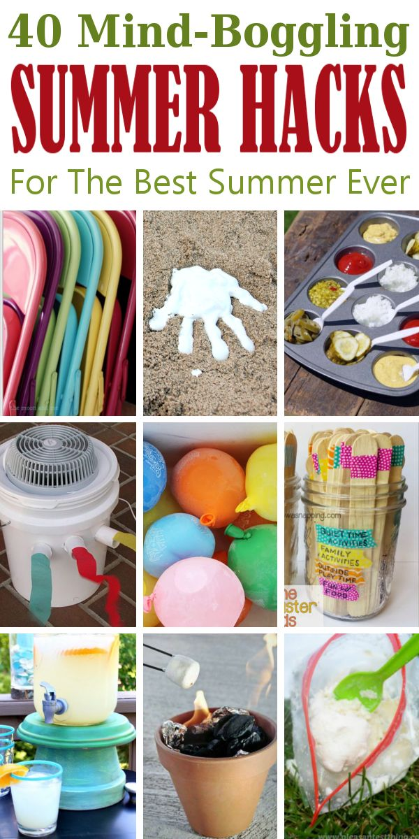 Best 25 summer life hacks ideas on pinterest cool life Cool household hacks