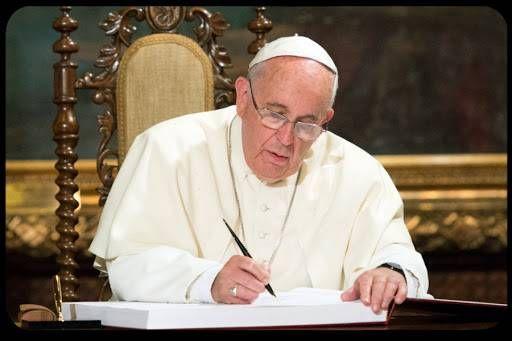 A comovente carta do Papa Francisco a uma menina com câncer terminal