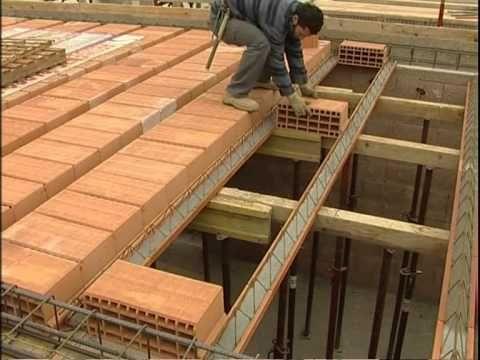 Cómo construir un techo con bóveda catalana 2ª parte video nº108 - YouTube