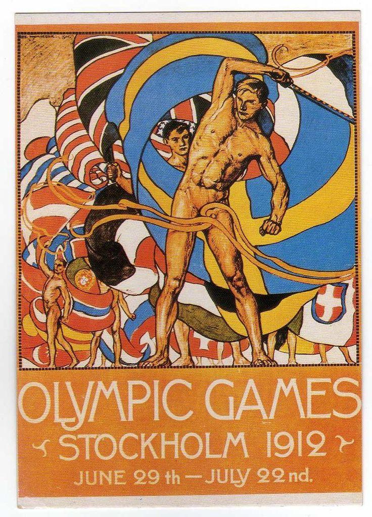 jeux olympique 1912 stockholm