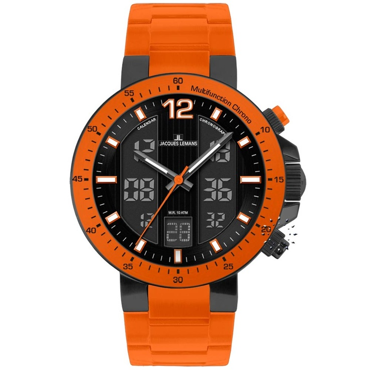 Jacques LEMANS Milano AnaDigi Multifunction Chronograph Μοντέλο: 1-1726H Τιμή: 194€ http://www.oroloi.gr/product_info.php?products_id=29169