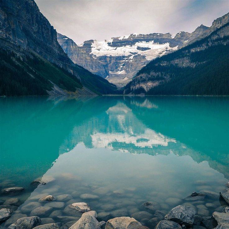 Canada Lake Louise Green Water Nature #iPad #Air #wallpaper