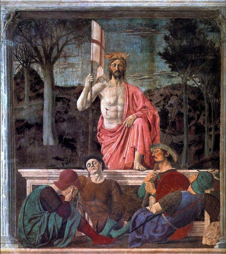 Piero della Francesca (1420–1492) - The Resurrection of Jesus Christ 1463