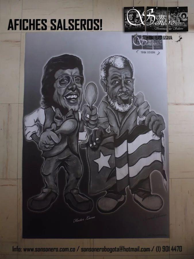 Foto: Afiche Salsero - Hector y Maelo