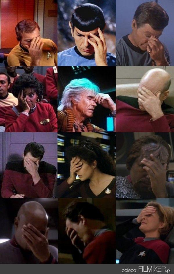 Star Trek // Facepalm // www.filmixer.pl