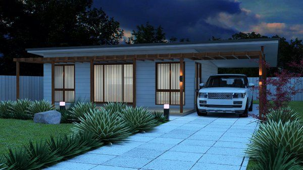 2 bedroom small house plan