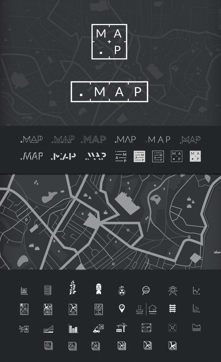 Website, logo and motion graphics for .MAP - Studio Lovelock A comprehensive…