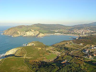Bahía de Plentzia - Plentzia Bay (taken from Barrika)