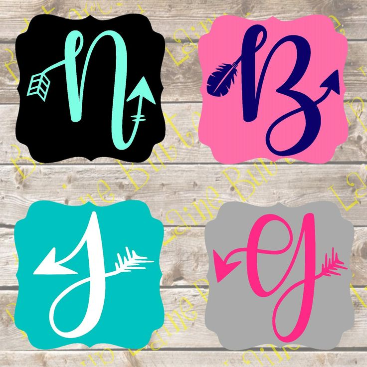 25 Best Ideas About Monogram Decal On Pinterest
