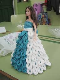 Resultado de imagen para vestido con papel