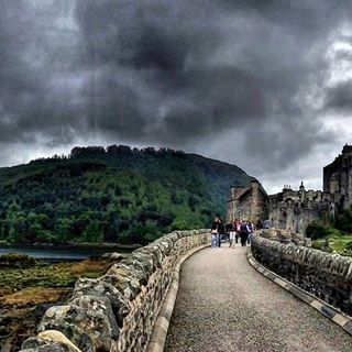 I'm in love with Scotland!  Eilean Donan Castle in the Highlands!