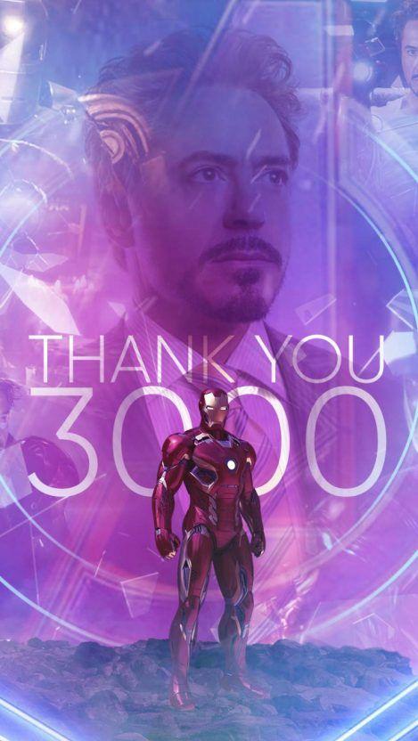 Tony Stark I Love You 3000 iPhone Wallpaper