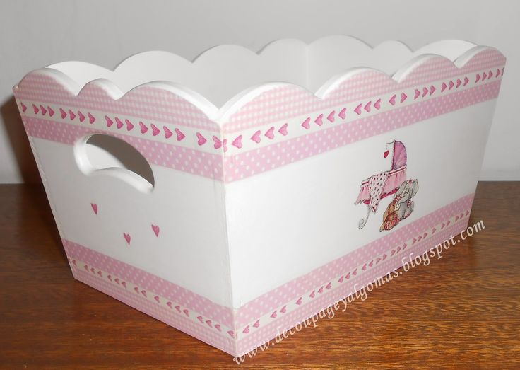 146 mejores im genes sobre cajas pintadas en pinterest for Caja almacenaje infantil