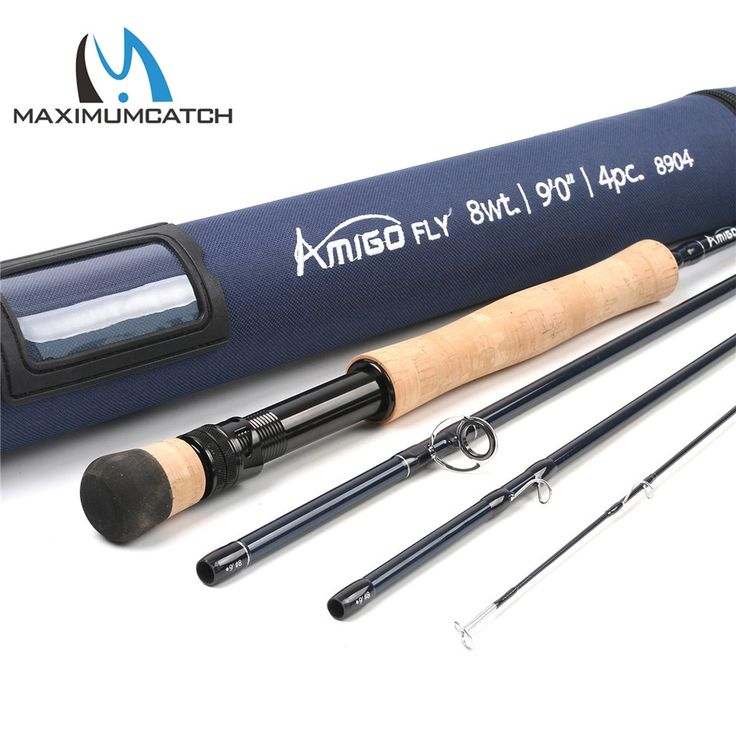 72.57$  Buy here - http://aliw6t.shopchina.info/go.php?t=32810263276 - Maximumcatch High Quality 8WT Fly rod 9FT Carbon Fiber Fast Action Amigo Fly Fishing Rod with Cordura Tube Pesca com mosca  #aliexpresschina