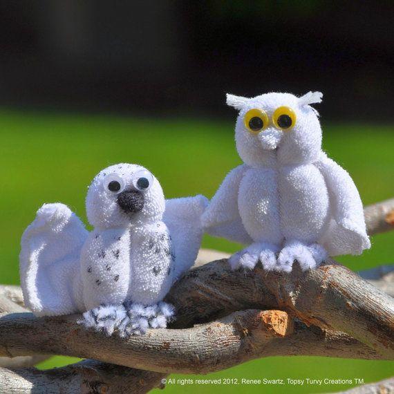Baby Washcloth Owl WashAgami ™ for Diaper door TopsyTurvyDiaperCake