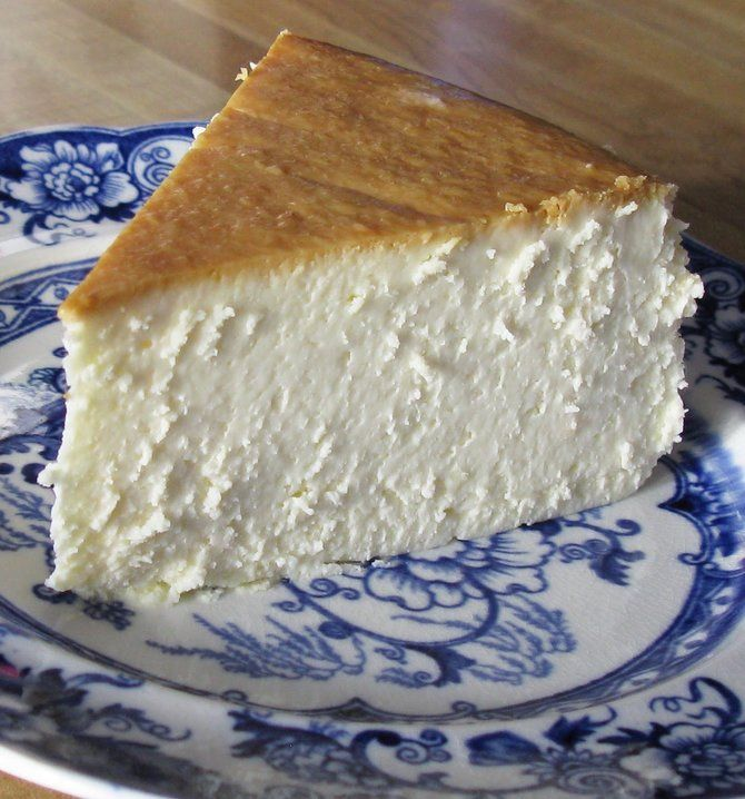 New York Cheesecake - To me, this is the single best cheesecake I have ever had. It is creamy smooth, lightly sweet, with a touch of lemon.