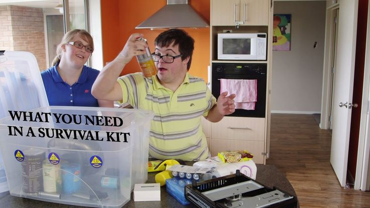 Andy, Biddy, Matthew, & James show you what you need in a survival kit to help you get through in a disaster. Get Ready, Get Thru