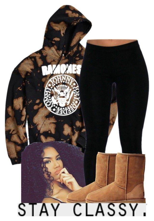 """"" by leshabest ❤ liked on Polyvore featuring Urban Outfitters and UGG Australia"