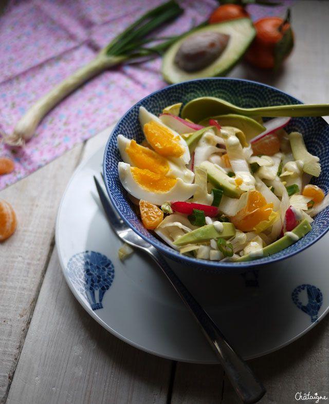 Salade hivernale {haute en couleurs} - Blog de Châtaigne