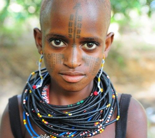 West African tribal markings | Cool Anthropology | African ...