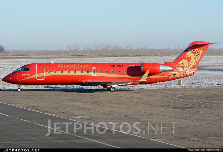 Photo of VQ-BNA - Bombardier CRJ-100ER - Rusline