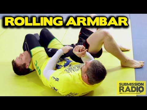 The Ronda Rousey Rolling Armbar - demonstrated by UFC fighter & Olympian...