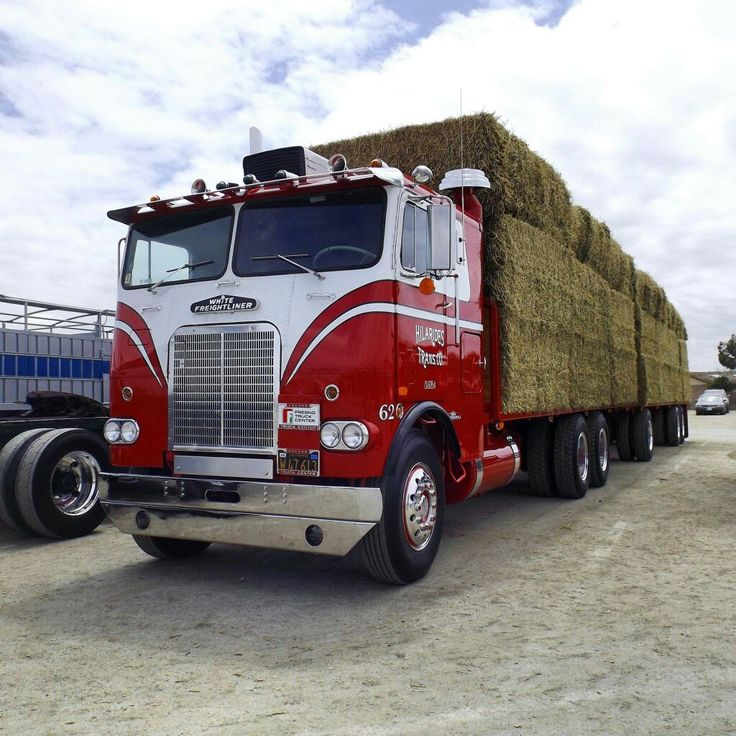108 Best images about Hay Wagons on Pinterest   Peterbilt ...