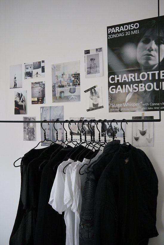Vaatteet värijärjestyksessä ❤