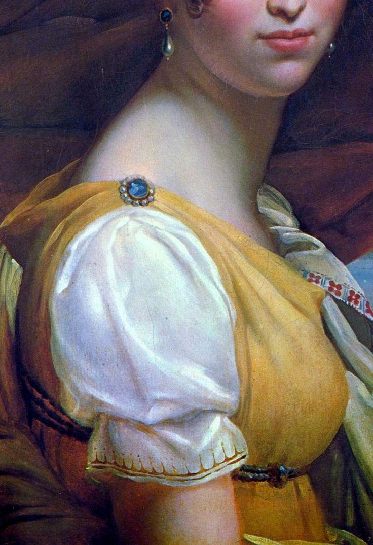 Hortense de Beauharnais by Francois Pascal Simon Gerard- Baron Gerard