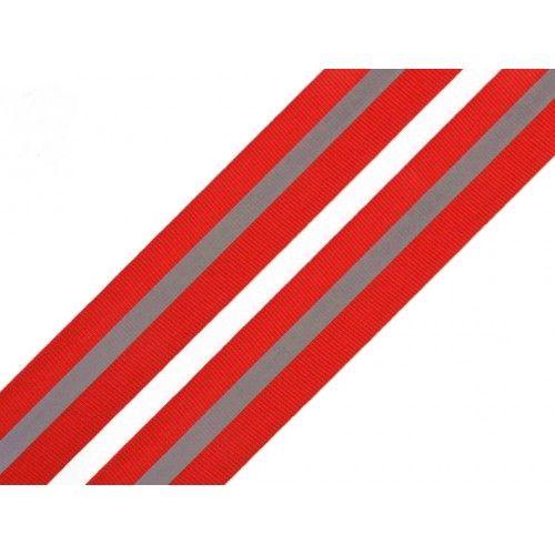 Reflexní páska červená 30mm