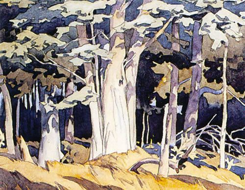 Old Maple , by A. J. Casson 1898-1992 (Group of Seven)