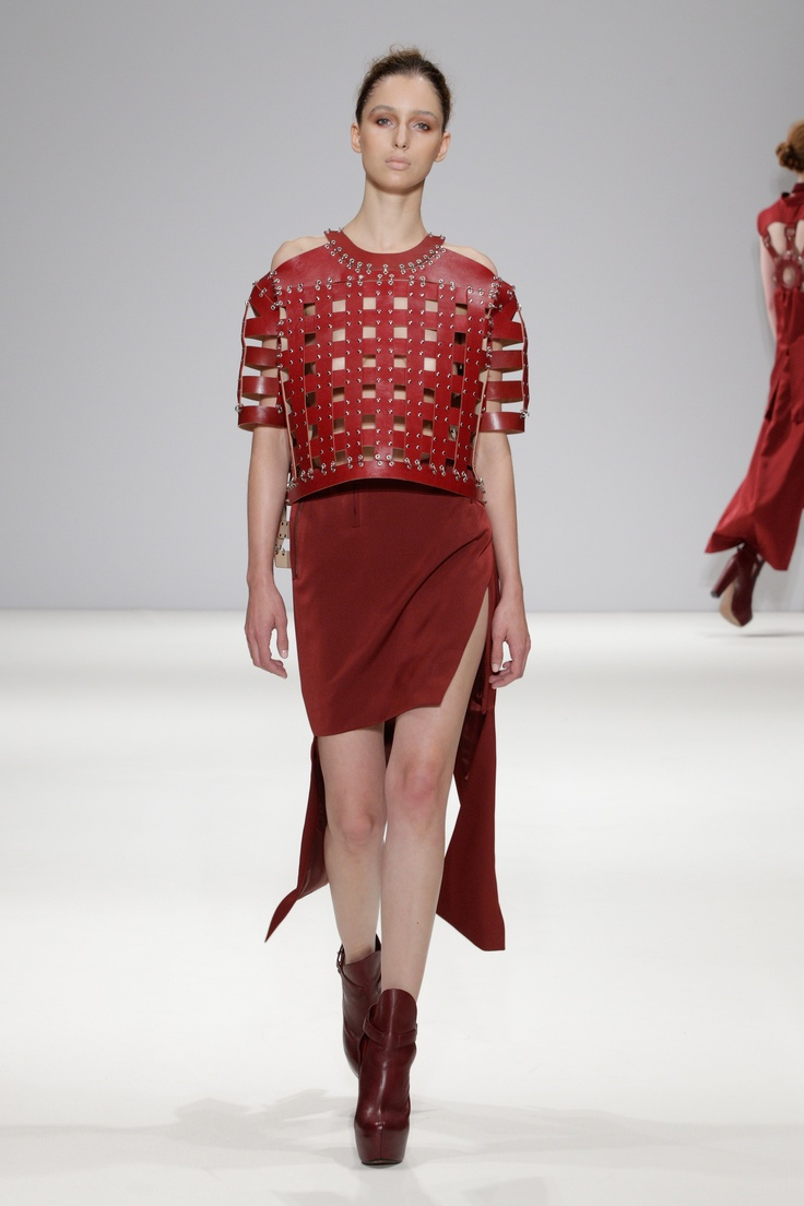 Ones To Watch SS13, Ming Pin Tien. Images by House Photographer Christopher Dadey