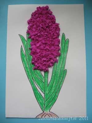 Voorjaarsknutsel hyacint