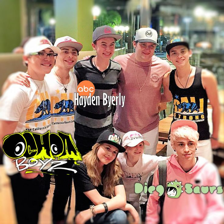 Boys Of Summer 2016 CALI Strong loved meeting up with this crew today! The Ochoa Boyz rocked the house with Rick Ochoa, Ryan Ochoa ,  Robert Ochoa,  Raymond Ochoa, Hayden Byerly, Diegosaurs and The Princess Destiny Ochoa.