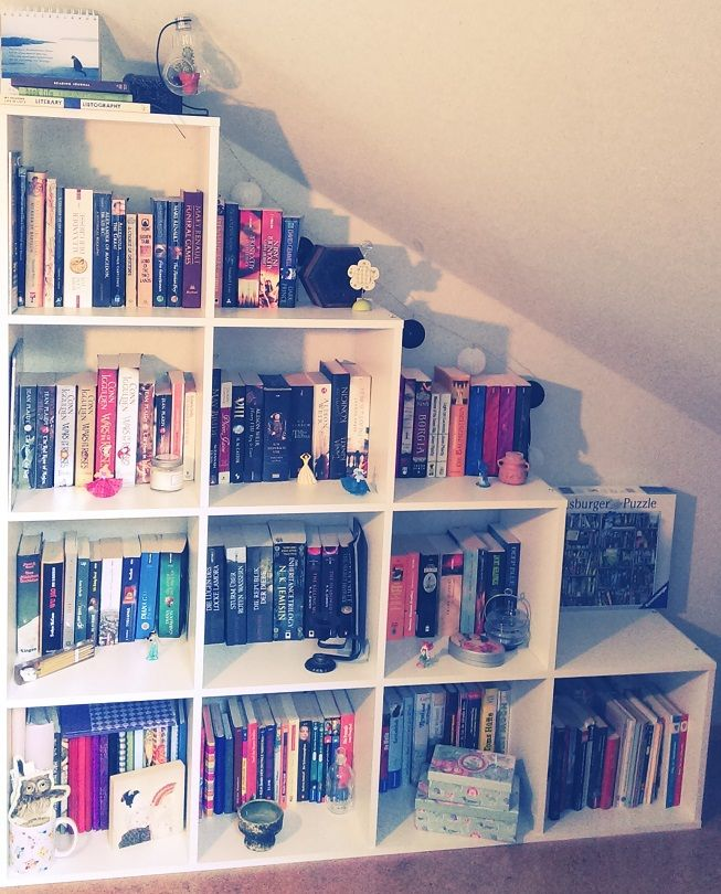 """bookgrotto: """"July Book Photo Challenge, Day 22: So Many Books! AKA HAVE PICS OF…"""