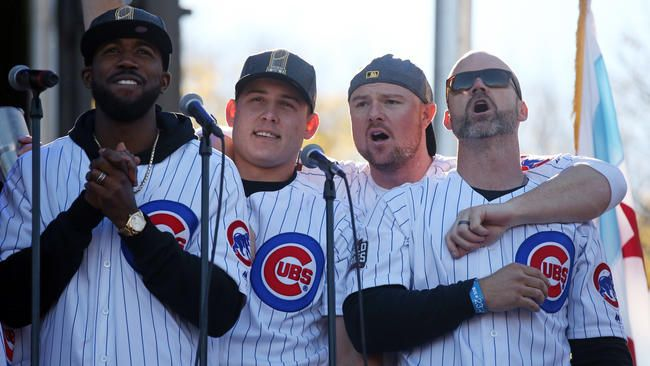 Hey Chicago What Do You Say? Cubs Are Going to Win Today!