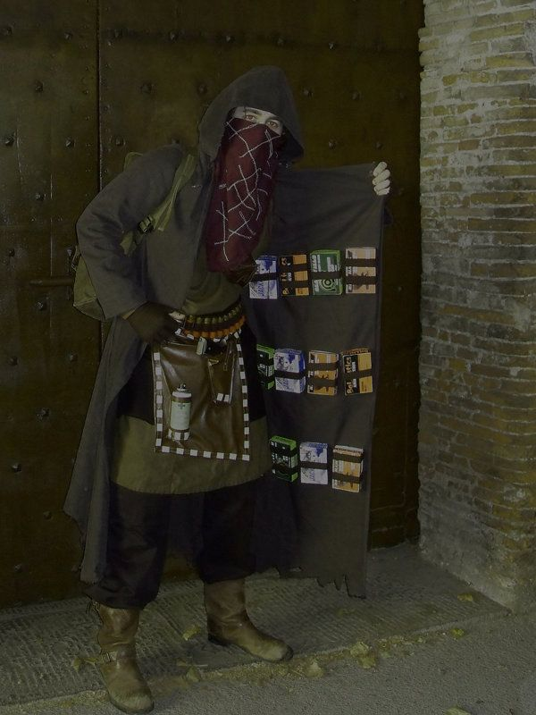 Sold on this RE4 Merchant Cosplay