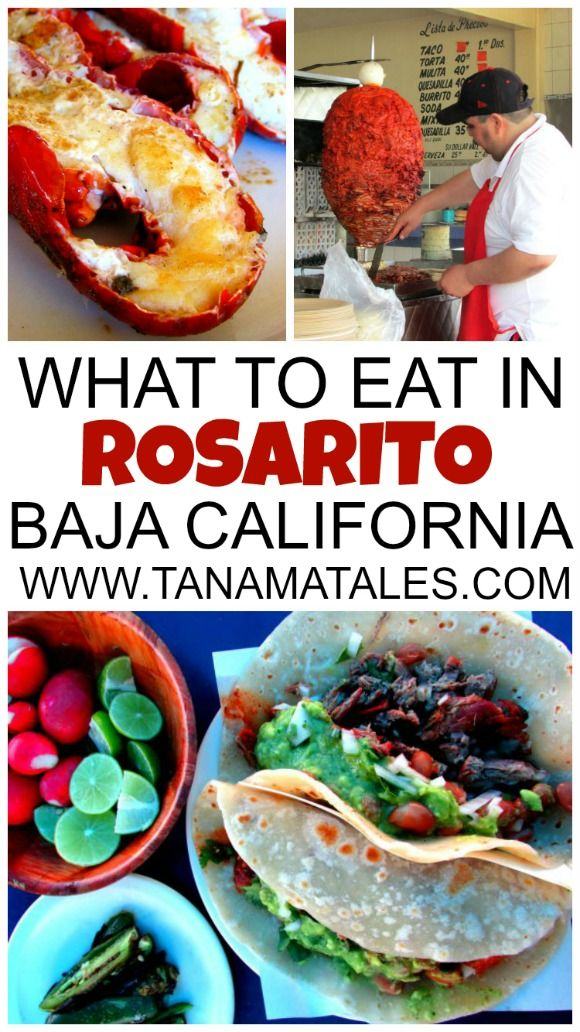Rosarito, a city located about 10 miles south of Tijuana, is an eating paradise in Baja California. Find tacos, grilled lobster, game meats and more.