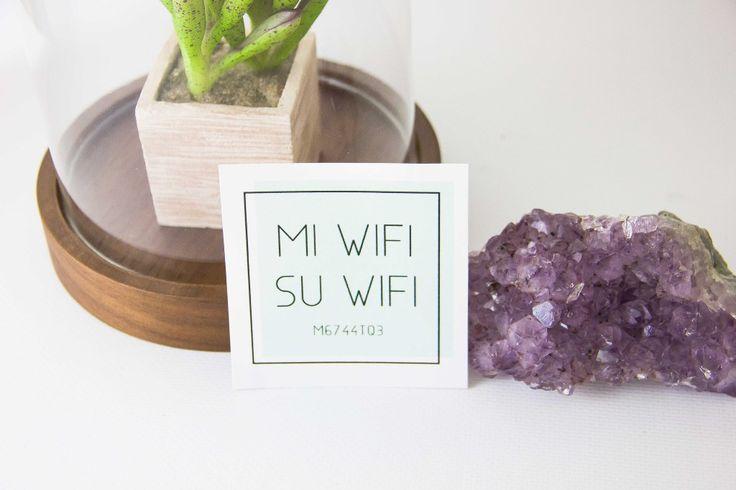 Essie Does Summer - Printable Wifi Card - Essie Does Summer