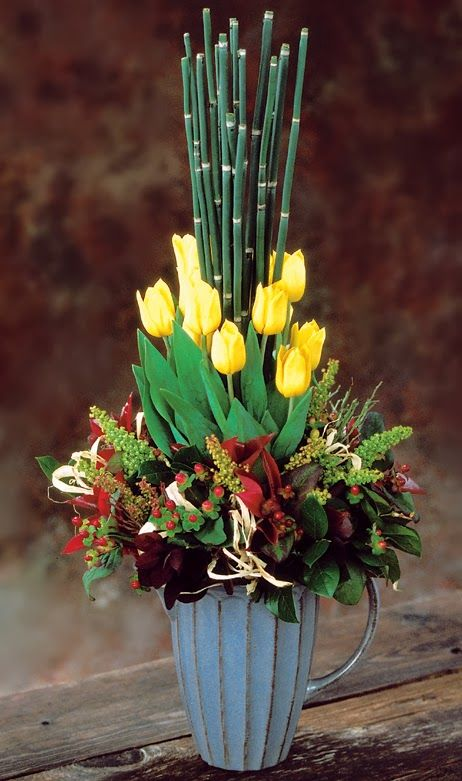 Sun Valley Tulip Flower Arrangements Creating A World Of