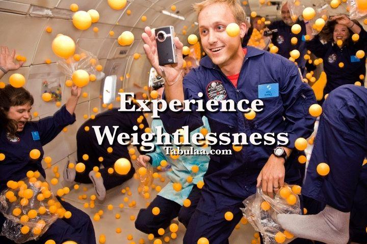 Bucket List | Experience Weightlessness