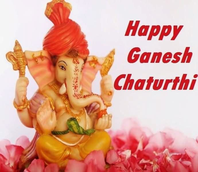 Happy Ganesh Chaturthi! May your home be filled with health and prosperity. #GaneshChaturthi  #LordGanesh