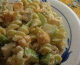 Quick and Easy Salad Buffet Menu: Pasta Salmon Apple Salad