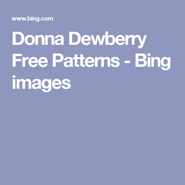 Donna Dewberry Free Patterns - Bing images