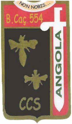 Companhia de Comando e Serviços do Batalhão de Caçadores 554 Angola